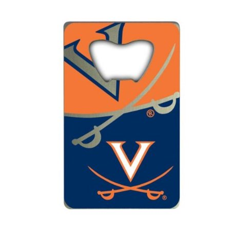 NCAA Virginia Cavaliers Credit Card Style Bottle Opener - Personalized Credit Card Bottle Opener