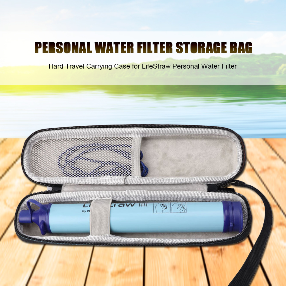 Case Bag For LifeStraw  Water Filter Hiking Camping Travel Case Carrying
