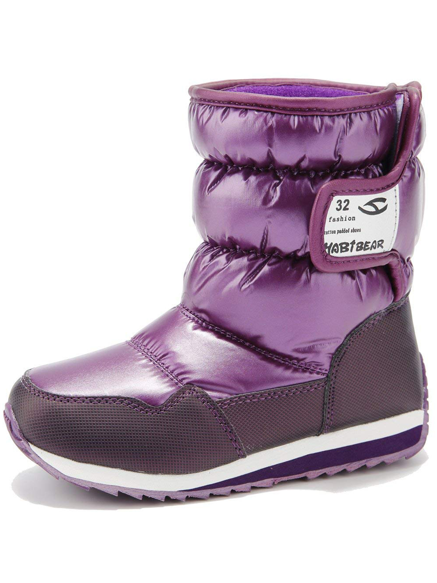 Snow Boots for Boys and Girls Outdoor Waterproof Cold Weather Shoes(Toddler/Little Kid/Big Kid)