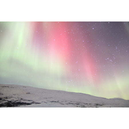 LAMINATED POSTER Sweden The Northern Lights Real Shot Poster Print 24 x 36
