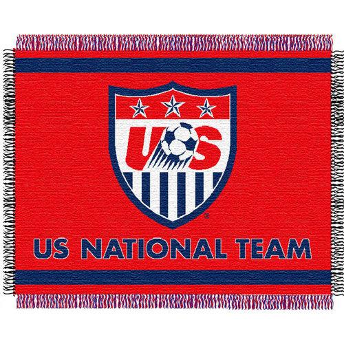 Team USA National Soccer 48x60 FIFA Triple Woven Jacquard Throw