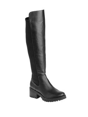 Scoop Theo Lug Sole Knee High Boot Women's