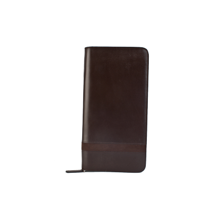 Passport Wireless Executive Kit - Avallone Executive Passport Holder - Brown Handmade Leather - 1IOPSBR