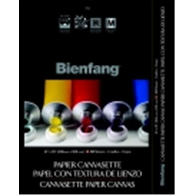 Bienfang Paper Pre-Primed Canvasette Panel - 12 x 16 inch - Pack 10