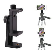 Acuvar Heavy Duty Rotating Smartphone Tripod Mount. Fits iPhone Xs, Xs Max, Xr, X, 8, 8+, 7, 7 Plus, 6, 6 Plus, 5s Samsung Galaxy, Android, etc.