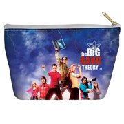 Big Bang Theory Poster Accessory Pouch White 8.5X6