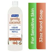 Softsoap Liquid Hand Soap Refill Bottle, Gently Coconut, 32 fl oz