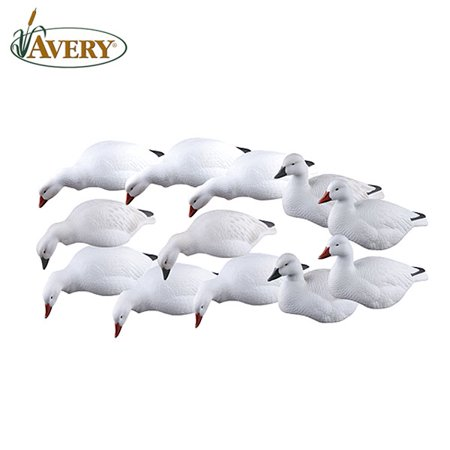 Snow Goose Shell Decoy (Avery GHG Pro-Grade Snow Goose Shells/Harv Decoys)