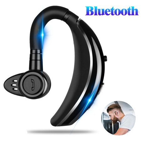 Audio Earpiece (Bluetooth Headset, EEEKit Wireless Bluetooth 4.1 Earpiece Headphones Earphones Ear Hooks with Noise Cancelling Mic for Business/Office/Driving/Truck Support iPhone/Android Cell Phones )