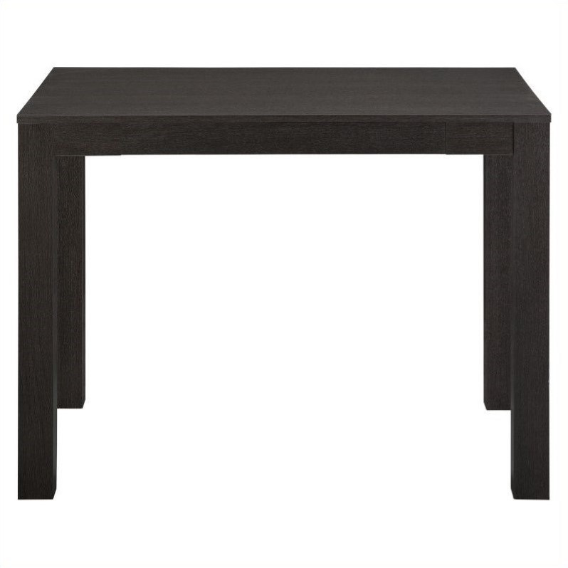 Mainstays Parsons Desk With Drawer, Black