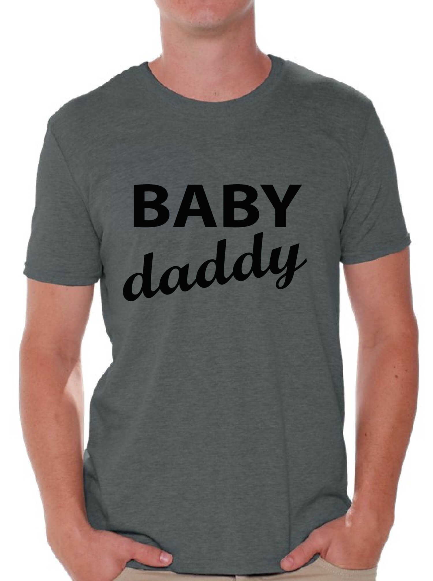 53467669 Awkward Styles - Awkward Styles Men's Baby Daddy Cool Graphic T-shirt Tops Father  To Be New Dad Father's Day Gift - Walmart.com