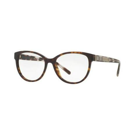 BURBERRY Eyeglasses BE2229 3002 Dark Havana 52MM