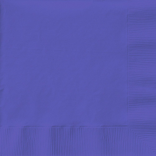 Creative Expressions Beverage Napkins 50-Pack, Purple by METALMARK CAPITAL LLC