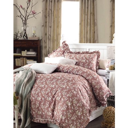 Vikki Brown 3pc Duvet Cover Set 100% Pure cotton - King - image 1 de 1