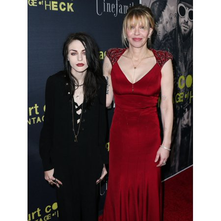 Frances Bean Cobain Courtney Love At Arrivals For Kurt Cobain Montage Of Heck Premiere By Hbo The Egyptian Theatre Los Angeles Ca April 21 2015 Photo By Xavier CollinEverett Collection