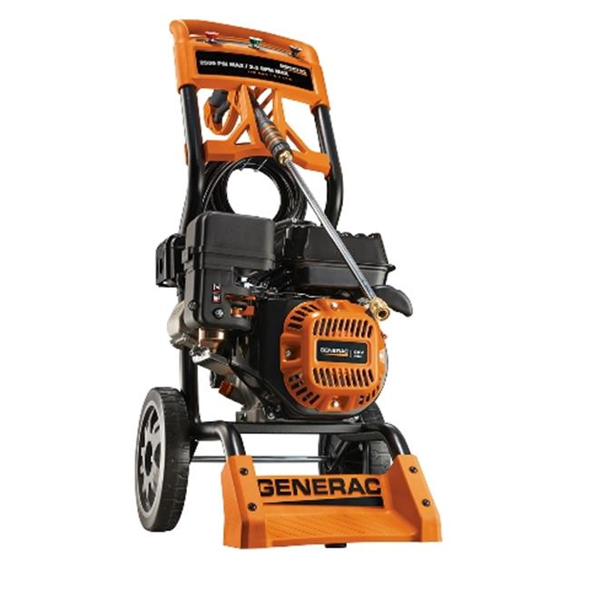 ***DISCONTINUED BY VENDOR 08 02*** Generac #6595, 2,500 PSI, Gas Pressure Washer (Non-CARB Compliant)