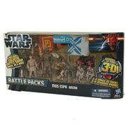 Star Wars Action Figure Set - Battle Packs - MOS ESPA ARENA (Sebulba, Anakin, C-3PO +1) *Exclusive*