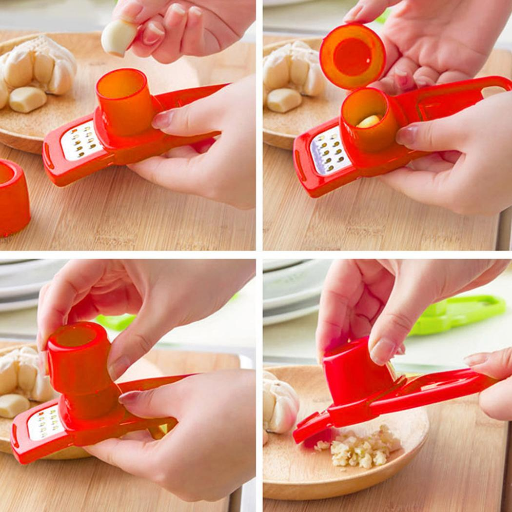 Click here to buy 1PC Multi Functional Stainless Steel Garlic Press Chopper Kitchen Tool SPPYY.