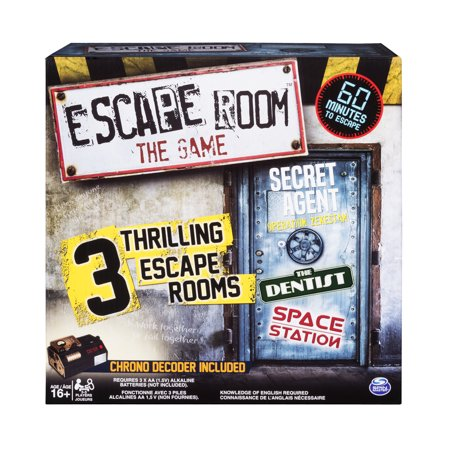 Fun Halloween Games To Play Inside (Spin Master Games - Escape Room The Game with 3 Thrilling Escape Rooms to Play, for Ages 16 and)