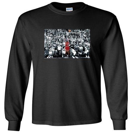 d295489c6dff97 Shedd Shirts - LONG SLEEVE Shedd Shirts Black Chicago Bulls Michael ...
