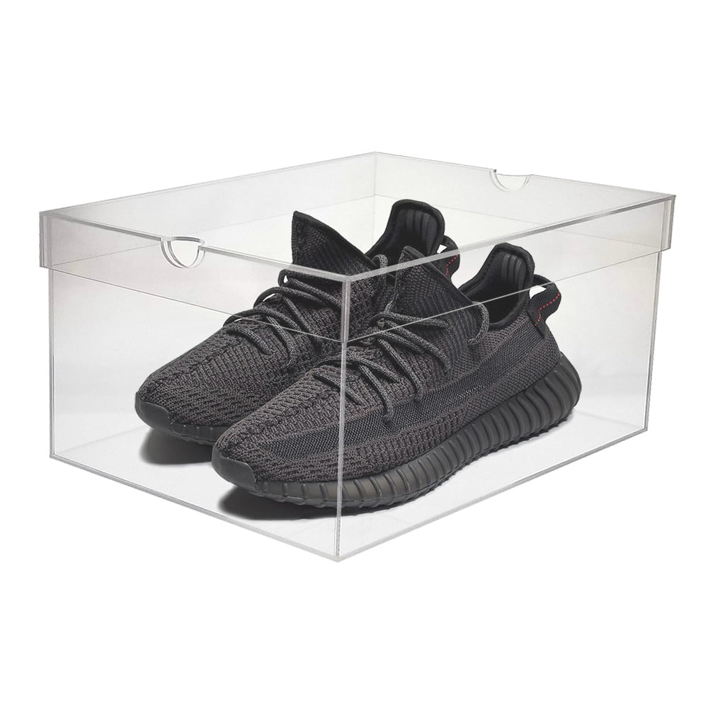 Medium Clear OnDisplay OD-SHOEBOXWOMEN Acrylic Shoebox