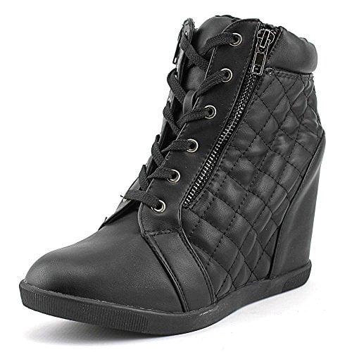 Madden Girl Womens BAAXTER Hight Top Zipper Fashion Sneakers by Madden Girl