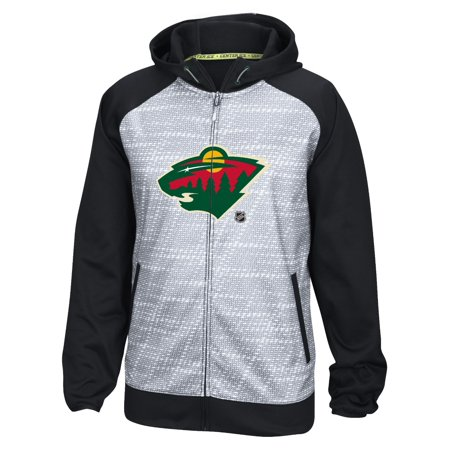 Minnesota Wild Reebok Nhl 2016 Center Ice Speedwick Full Zip Sweatshirt