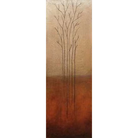 - Branch Rouge Canvas Art - Eve (8 x 24)