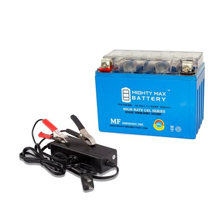 ytz14s gel replaces yamaha 1700 vmax 2014-2015 + 12v 2amp charger