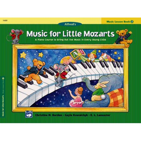 Alfred's Music for Little Mozarts, Music Lesson Book 2