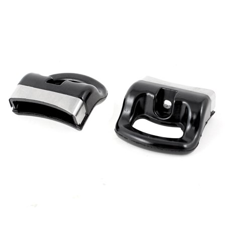 2 Pcs Cookware Pressure Cooker Plastic Grip 58mm Length Replacement Black - image 1 of 1