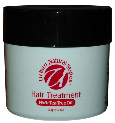 Urban Natural Hair Treatment with Tea Tree Oil 4.5 oz. (Pack of 2)