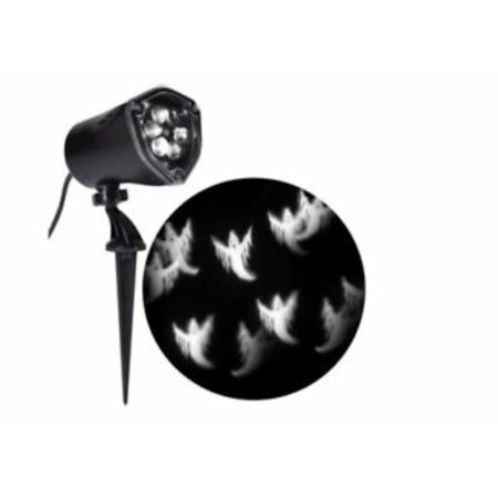 Halloween Projection LED Whirl A Motion + Strobe Spotlight Chasing White Ghosts](Halloween Strobe Light Ideas)