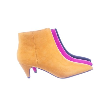 7f00b5c2836 Leah by Delicious, Retro Women's Kitten heel Pointed Toe Ankle Dress Bootie