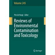 Reviews of Environmental Contamination and Toxicology Volume 245 - eBook