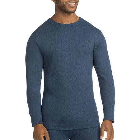 Originals Wool-Blend Men's Thermal Shirt, Blue Jean - (Blue Originals)