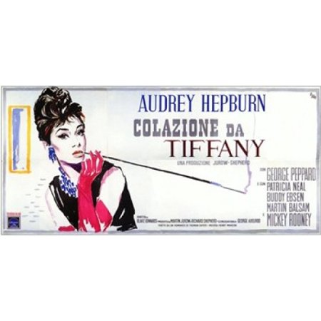 Breakfast At Tiffanys Movie Poster (17 x - Breakfast At Tiffanys Star