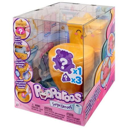 Pooparoos Surpriseroos Toilet Pack [Gold] (Toilet Toy)