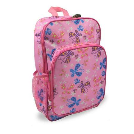 - Keeli Kids Pink Butterfly backpack for Preschool Kindergarten Elementary School Girls
