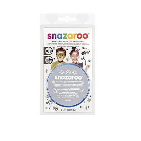 Snazaroo Face Paint 18ml Clam Pack Color - Light Grey - image 1 de 1