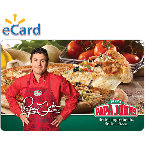 Papa John's $25 (Email Delivery)