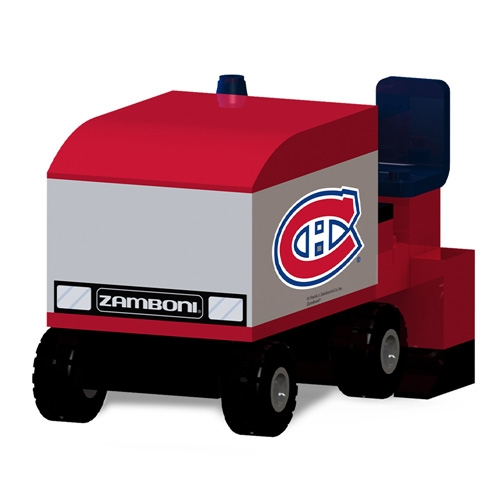 OYO Sports Montreal Canadiens Zamboni Machine Building Blocks Set - No Size