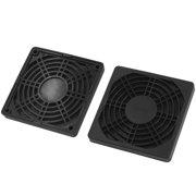 Unique Bargains 2Pcs Dustproof Mesh Dust Filter Guard Grill for 90mm PC Computer Case Fan