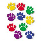 Teacher Created Resources Paw Print Accents, Assorted