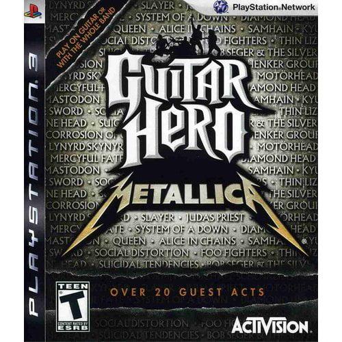 Guitar Hero Metallica Playstation 3 Walmart Com Walmart Com