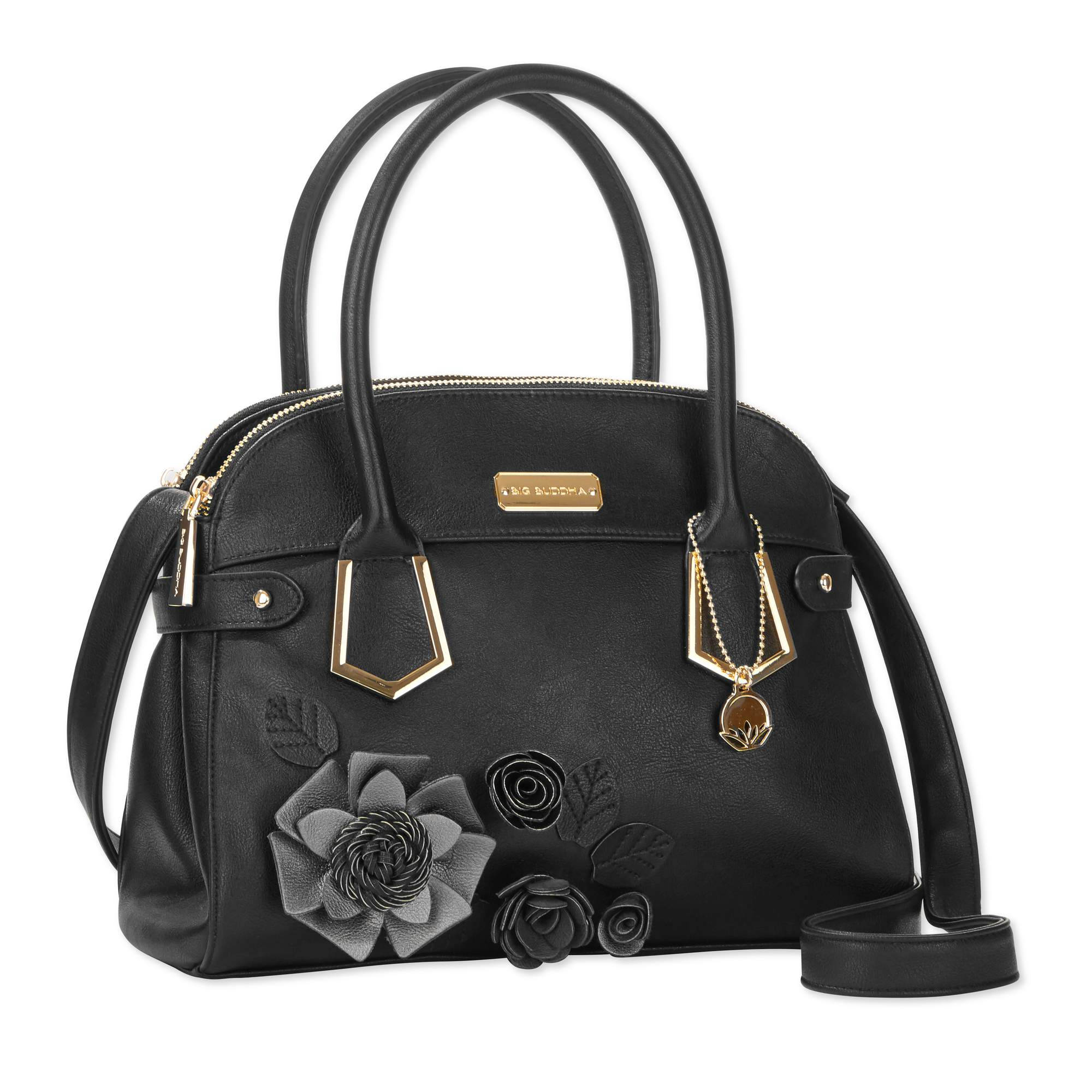 Big Buddha Floral Satchel