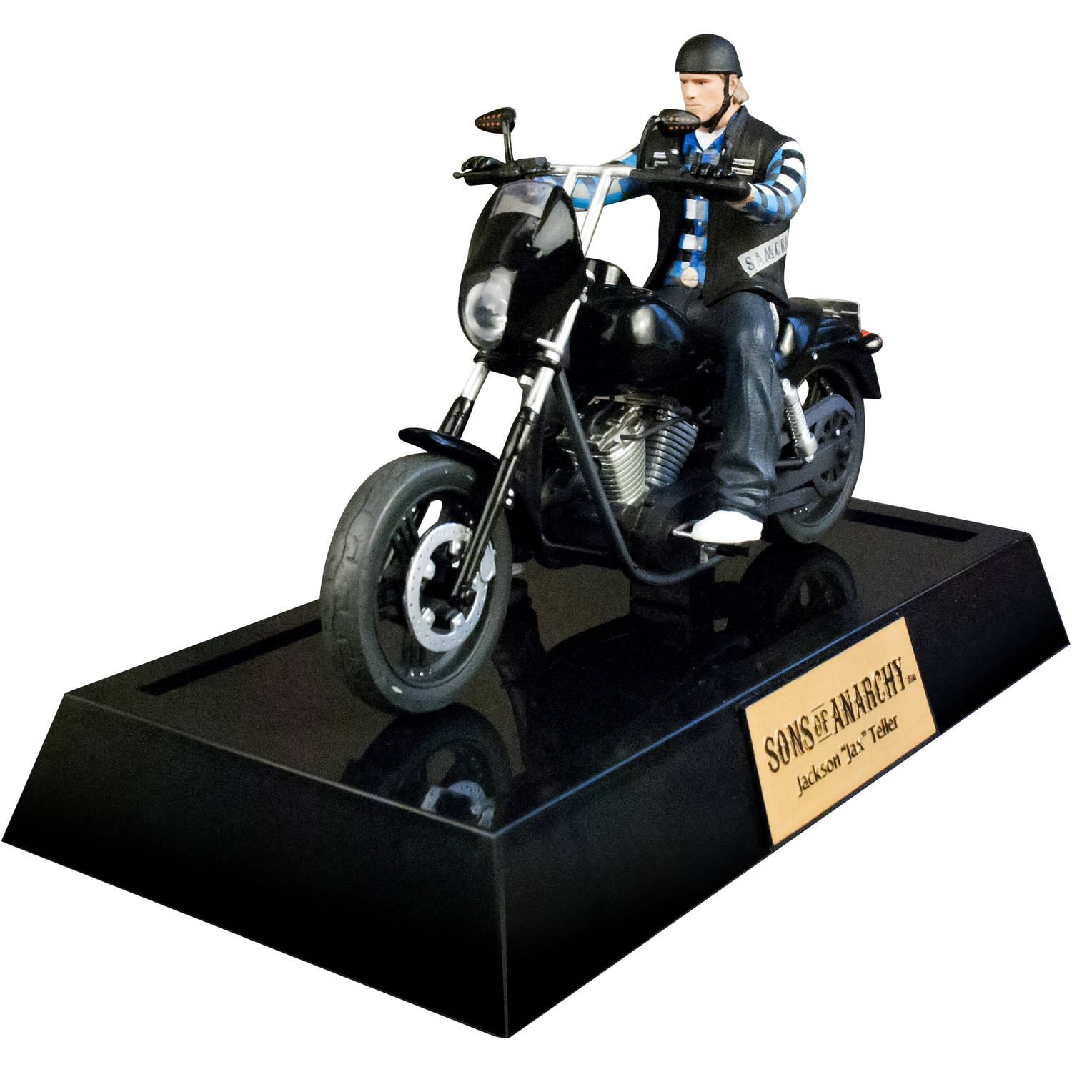"Sons of Anarchy Deluxe Jax Teller 6"" Figure with Bike"