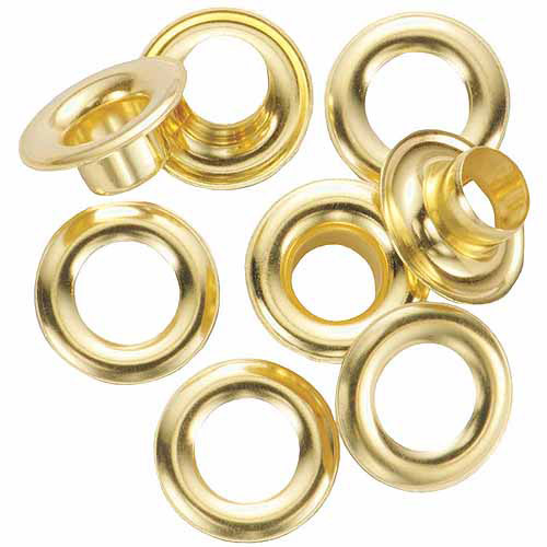 General Tools 1261-4 12-Count #4 Brass Grommet Refills