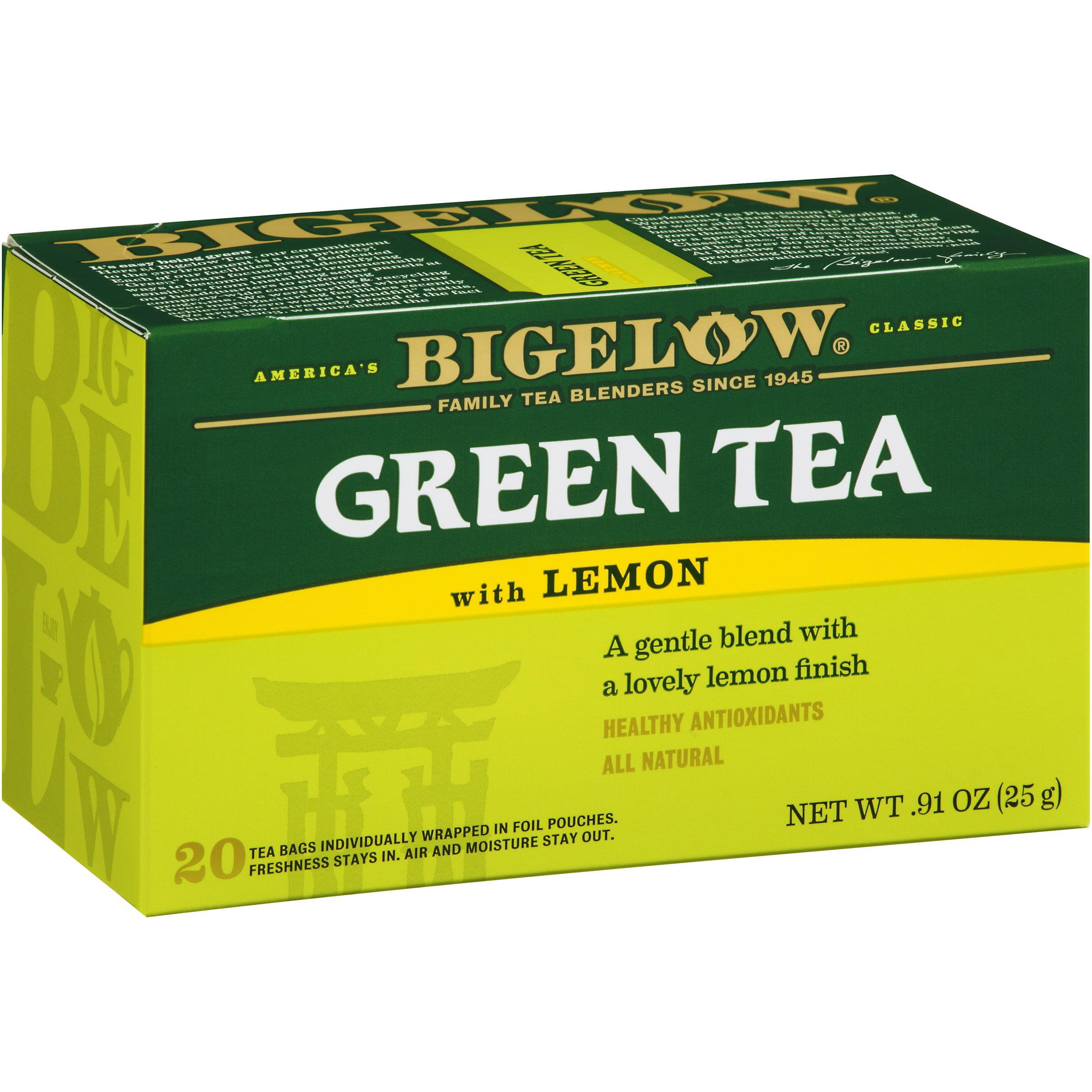 Bigelow Green Tea With Lemon Tea Bags, 20 ct by R.C. Bigelow, Inc.