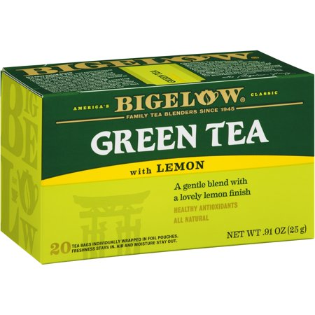 Bigelow ® Thé vert Boîte citron 20 ct